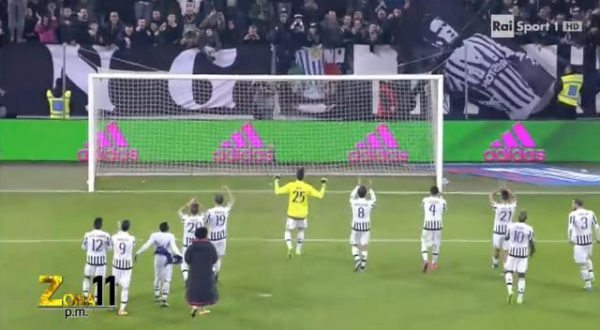 Juventus Inter semifinale coppa italia