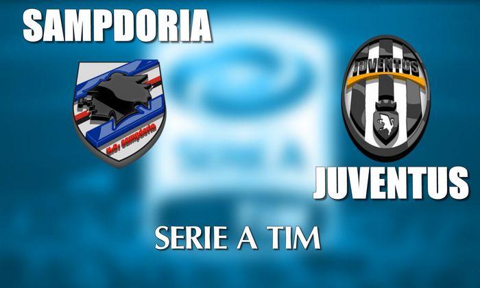 Sampdoria Juventus live