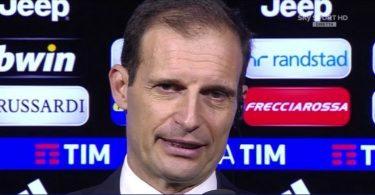 Massimiliano Allegri Juventus Napoli