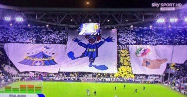 Juventus Inter coreografia