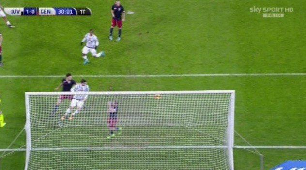 Juventus Genoa 1-0