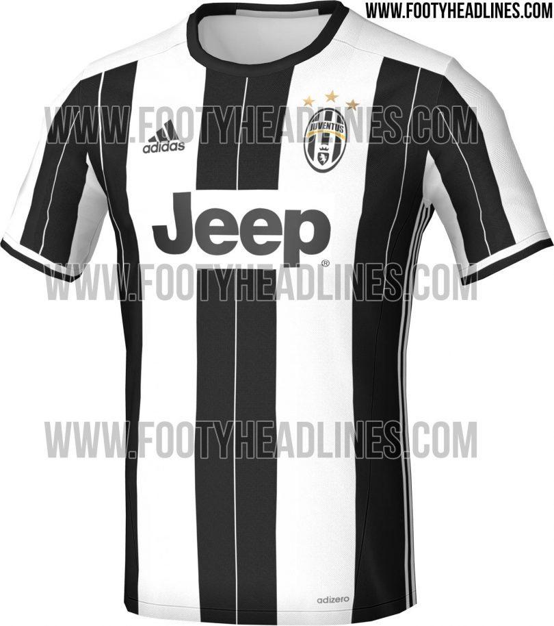 Maglia Juventus 2016-2017 - post