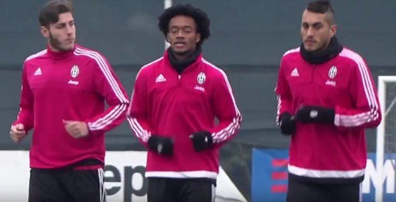 Allenamento Juventus 9 febbraio 2016