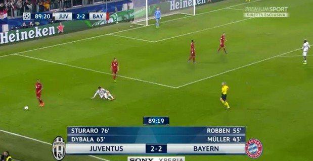 Juventus Bayern Monaco 2-2: video gol highlights e pagelle