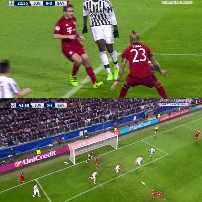 Juventus Bayern Monaco Moviola