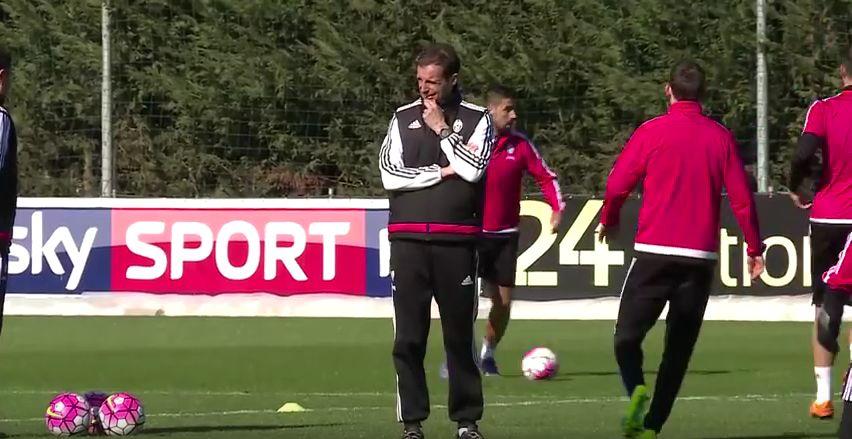 Juventus allenamento Allegri