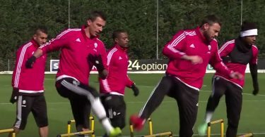 Bayern Monaco Juventus allenamento