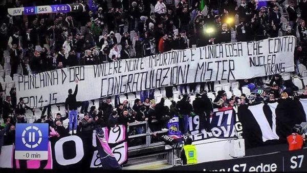 Juventus Sassuolo 1-0