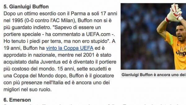 Uefa - Buffon