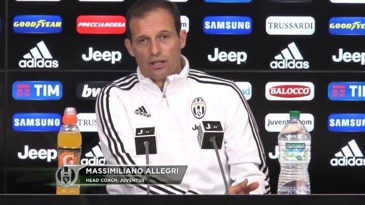 Allegri - Milan Juve