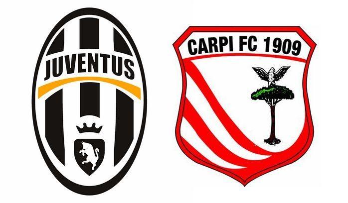 Juventus Carpi formazioni