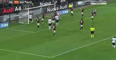 Milan Juventus 1-2