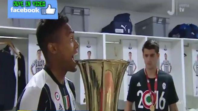Juventus festa coppa italia 2016