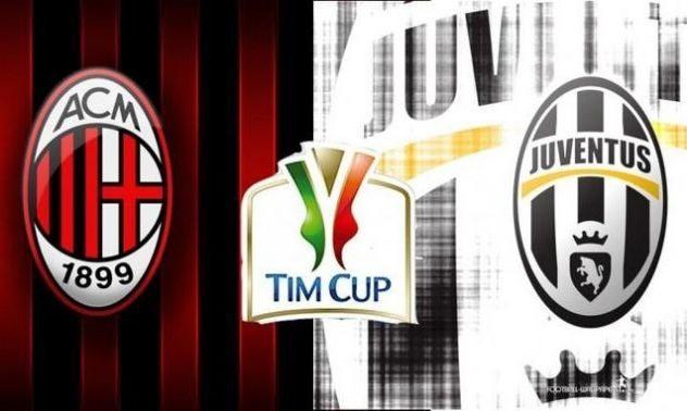 Juventus-Milan finale coppa italia