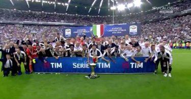 Juventus - Festa scudetto 2015-2016