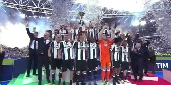 Juventus campione 2016