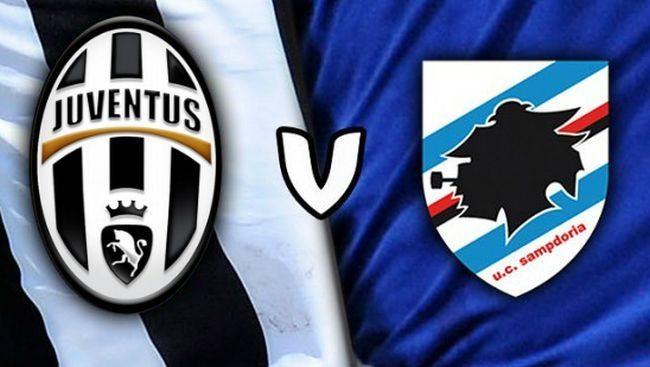 Juventus-Sampdoria live
