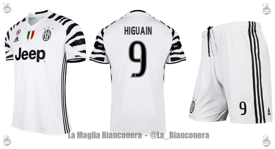 Seconda Maglia Juventus completini