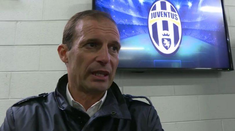 Allegri - Juventus-Tottenham