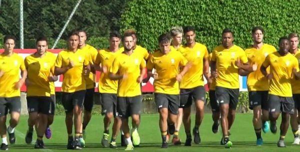 Juventus 2016-2017 allenamento