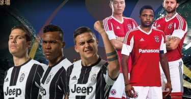 Juventus-South China live