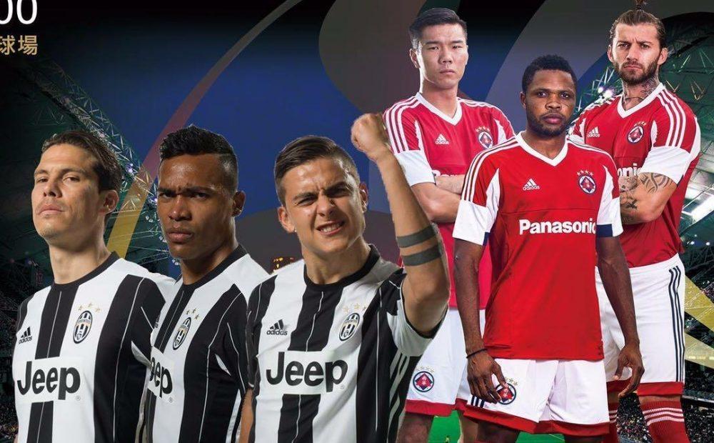 Juventus-South China live