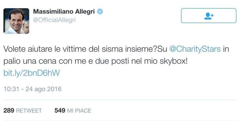 terremoto centro italia - Allegri