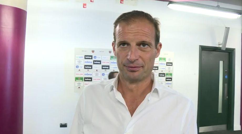 Allegri - West Ham-Juventus