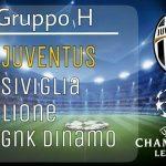 calendario juventus champions league 2016-2017