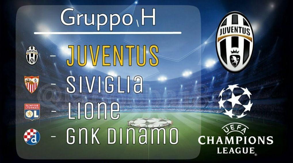 Partite Champions Calendario.Calendario Juventus Champions League 2016 2017 Tutte Le