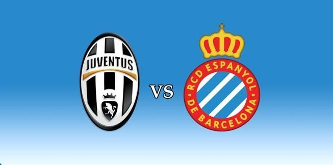 Juventus-Espanyol formazioni live