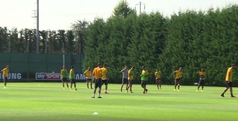 Juventus ritiro Vinovo