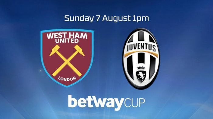 West Ham-Juventus live