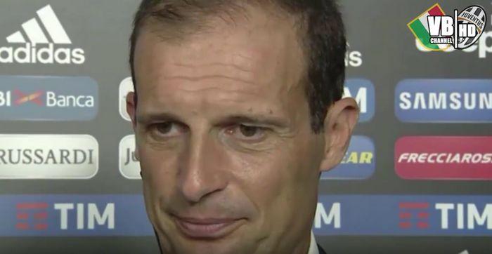 Allegri - Juventus-Sassuolo