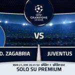 Dinamo Zagabria-Juventus diretta live