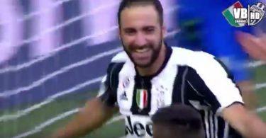 Juventus-Sassuolo 3-1 Higuain