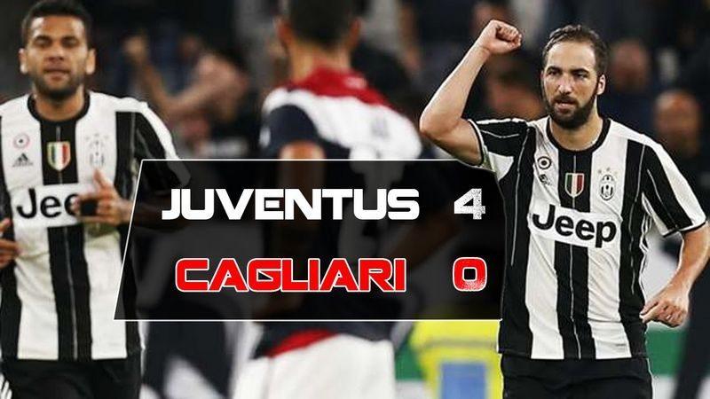 Juventus-Cagliari 4-0