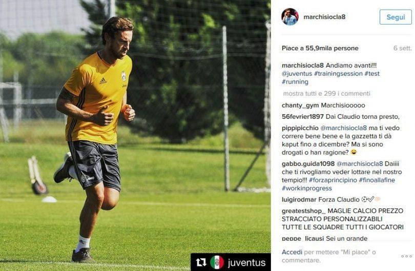 Juventus news - Marchisio
