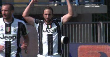 Empoli-Juventus 0-3 video Higuain