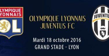 Lione-Juventus diretta live
