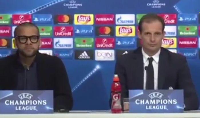 Allegri Dani Alves Siviglia Juventus