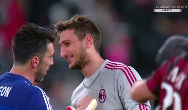 Juventus news - Buffon Donnarumma