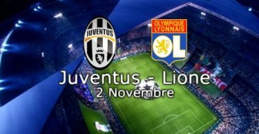 Juventus-Lione diretta live