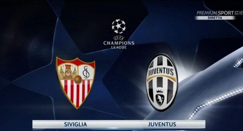 siviglia-juventus diretta champions