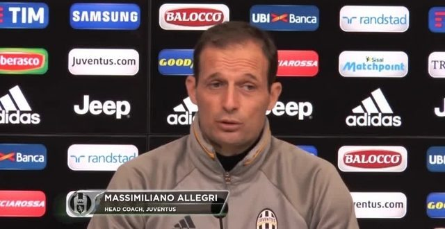 """Allegri: """"Torniamo al 3-5-2 con la Fiorentina"""""""