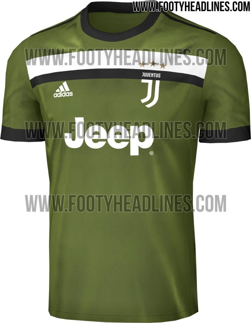maglia juventus third 2017-2018 footy