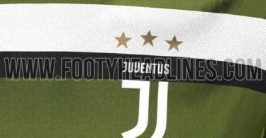 maglia juventus third 2017-2018 footy logo