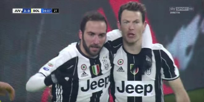 Juventus-Bologna 3-0: video gol, highlights e pagelle