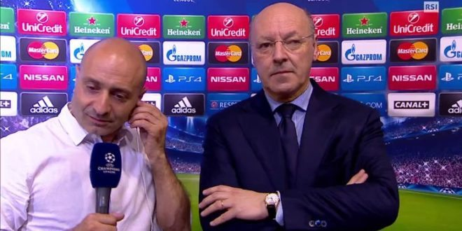 "Marotta: ""Evra via? Nessun sostituto dal mercato"" [VIDEO]"