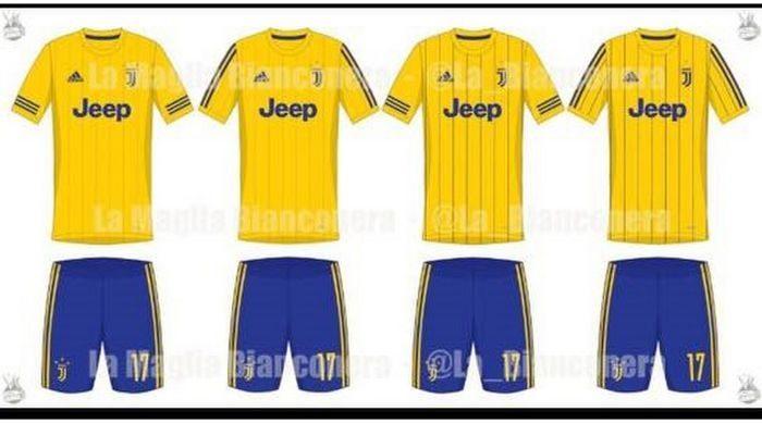 maglia juventus gialla 2017-2018
